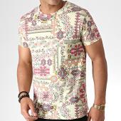 /achat-t-shirts/mtx-tee-shirt-bandana-zt5055-jaune-clair-rose-184516.html