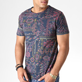 /achat-t-shirts/mtx-tee-shirt-bandana-zt5055-bleu-fonce-rose-184517.html