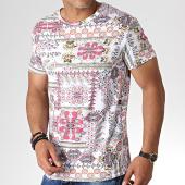 /achat-t-shirts/mtx-tee-shirt-bandana-zt5055-blanc-rose-184518.html