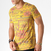 /achat-t-shirts/mtx-tee-shirt-bandana-zt5055-jaune-moutarde-rose-184519.html