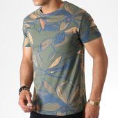 /achat-t-shirts/mtx-tee-shirt-floral-zt5059-vert-kaki-bleu-orange-184539.html