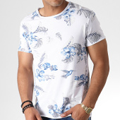 /achat-t-shirts/mtx-tee-shirt-floral-tm0205-blanc-bleu-184551.html