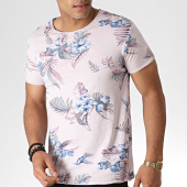 /achat-t-shirts/mtx-tee-shirt-floral-tm0205-rose-bleu-184555.html