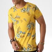 /achat-t-shirts/mtx-tee-shirt-floral-tm0205-jaune-moutarde-bleu-184562.html