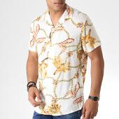 /achat-chemises-manches-courtes/mtx-chemise-manches-courtes-floral-328-ecru-orange-184569.html