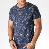/achat-t-shirts/mtx-tee-shirt-floral-zt5061-bleu-fonce-184575.html