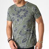 /achat-t-shirts/mtx-tee-shirt-floral-zt5061-vert-kaki-bleu-fonce-184577.html