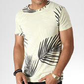 /achat-t-shirts/mtx-tee-shirt-floral-zt5056-jaune-gris-anthracite-184585.html