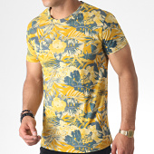 /achat-t-shirts/mtx-tee-shirt-zt5057-jaune-moutarde-floral-184637.html
