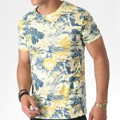 /achat-t-shirts/mtx-tee-shirt-zt5057-jaune-clair-floral-184640.html