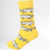 /achat-chaussettes/romeo-elvis-paire-de-chaussettes-croco-jaune-184661.html