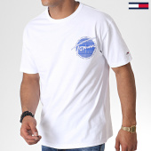 /achat-t-shirts/tommy-hilfiger-jeans-tee-shirt-back-graphic-6483-blanc-184558.html