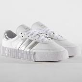 /achat-baskets-basses/adidas-baskets-femme-sambarose-ee9017-footwear-white-silver-metal-core-black-184674.html