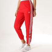 /achat-pantalons-joggings/adidas-pantalon-jogging-femme-avec-bandes-lock-up-ed7543-rouge-184828.html