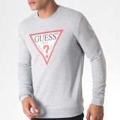 /achat-sweats-col-rond-crewneck/guess-sweat-crewneck-m93q22k6zs0-gris-chine-184696.html