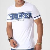 /achat-t-shirts/guess-tee-shirt-slim-m93i49k8hm0-blanc-bleu-marine-184699.html