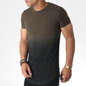 /achat-t-shirts-longs-oversize/john-h-tee-shirt-oversize-143-vert-kaki-noir-degrade-184717.html