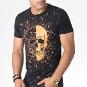 /achat-t-shirts/john-h-tee-shirt-a055-noir-orange-fluo-184745.html