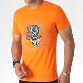 /achat-t-shirts/john-h-tee-shirt-a-strass-a047-orange-dore-argente-184783.html