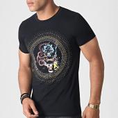 /achat-t-shirts/john-h-tee-shirt-a-strass-a047-noir-dore-argente-184784.html