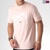 /achat-t-shirts/tommy-hilfiger-jeans-tee-shirt-handwriting-6478-saumon-184741.html