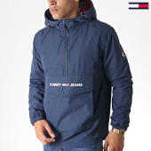 /achat-vestes/tommy-jeans-veste-outdoor-light-weight-popover-6487-bleu-marine-184743.html