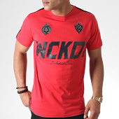 /achat-t-shirts/wicked-one-tee-shirt-a-bandes-blackout-rouge-noir-184805.html