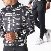 /achat-pantalons-joggings/classic-series-ensemble-de-survetement-6003-noir-184953.html