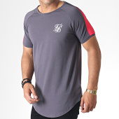 /achat-t-shirts/siksilk-tee-shirt-oversize-a-bandes-fade-panel-15344-gris-rose-184909.html
