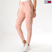 /achat-pantalons-joggings/tommy-hilfiger-jeans-pantalon-jogging-femme-cuffed-1649-rose-chine-184921.html