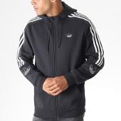 /achat-sweats-zippes-capuche/adidas-sweat-zippe-capuche-avec-bandes-outline-fzh-ed4693-noir-185012.html