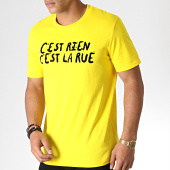 /achat-t-shirts/cest-rien-cest-la-rue-tee-shirt-flock-jaune-noir-185016.html