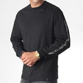 /achat-t-shirts-manches-longues/huf-tee-shirt-manches-longues-boner-noir-blanc-185005.html