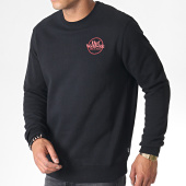 /achat-sweats-col-rond-crewneck/huf-sweat-crewneck-issue-logo-noir-rouge-185009.html