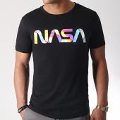 /achat-t-shirts/nasa-tee-shirt-iridescent-worm-logo-noir-185165.html