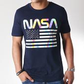 /achat-t-shirts/nasa-tee-shirt-iridescent-usa-bleu-marine-185167.html