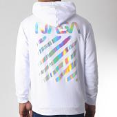 /achat-sweats-capuche/nasa-sweat-capuche-iridescent-skid-blanc-185173.html