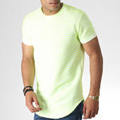 /achat-t-shirts-longs-oversize/uniplay-tee-shirt-oversize-401-blanc-jaune-fluo-185076.html