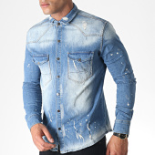 /achat-vestes-jean/uniplay-chemise-jean-skinny-manches-longues-043-bleu-denim-185082.html