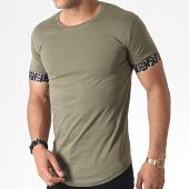 /achat-t-shirts-longs-oversize/classic-series-tee-shirt-oversize-279-vert-kaki-185201.html