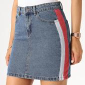/achat-jupes/only-jupe-jean-femme-a-bandes-christy-bleu-denim-rouge-brique-185256.html