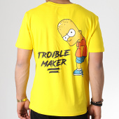 /achat-t-shirts/the-simpsons-tee-shirt-trouble-maker-jaune-185230.html
