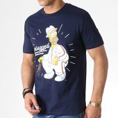 /achat-t-shirts/the-simpsons-tee-shirt-unplugged-bleu-marine-185232.html
