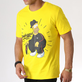 /achat-t-shirts/the-simpsons-tee-shirt-unplugged-jaune-185233.html