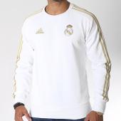 /achat-sweats-col-rond-crewneck/adidas-sweat-crewneck-avec-bandes-real-dy4896-blanc-dore-185421.html