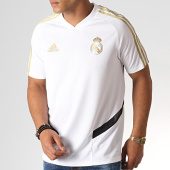 /achat-t-shirts/adidas-tee-shirt-de-sport-a-bandes-real-dx7849-blanc-dore-185424.html