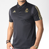 /achat-polos-manches-courtes/adidas-polo-manches-courtes-a-bandes-real-dx7857-noir-dore-185425.html