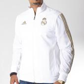 /achat-vestes/adidas-veste-zippee-a-bandes-real-dx7860-blanc-dore-185429.html