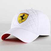/achat-casquettes-de-baseball/scuderia-ferrari-casquette-quilted-ferrari-blanc-185457.html
