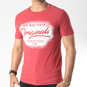 /achat-t-shirts/jack-and-jones-tee-shirt-sprayed-rouge-brique-chine-185336.html
